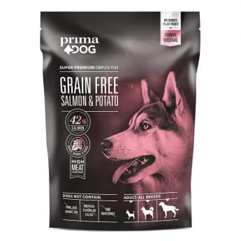 PrimaDog Adult All Breeds Sensitive Grain Free Salmon & Potato (1,5 kg)