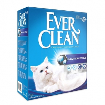 Ever Clean Multi Crystals Kattsand