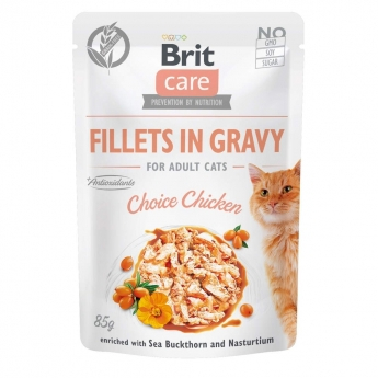 Brit Care Cat Adult Kyckling i Sås 85 g