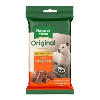 NaturesMenu Dog Real Meaty Treats Chicken 60 g