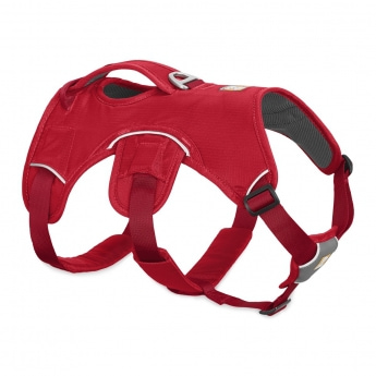 Ruffwear Web Master Hundsele Röd