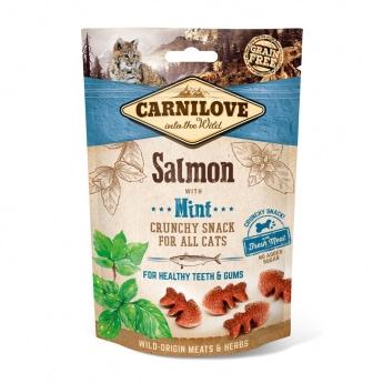 Carnilove Cat Crunchy Snack Salmon & Mint