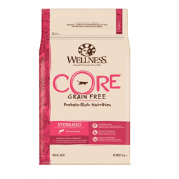 CORE Cat Sterilised Salmon 10 kg