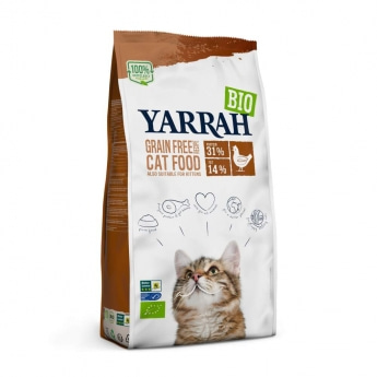 Yarrah Organic Cat Adult Chicken & Fish Grain Free