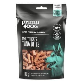 PrimaDog Meaty Treats Tuna Bites 100 g