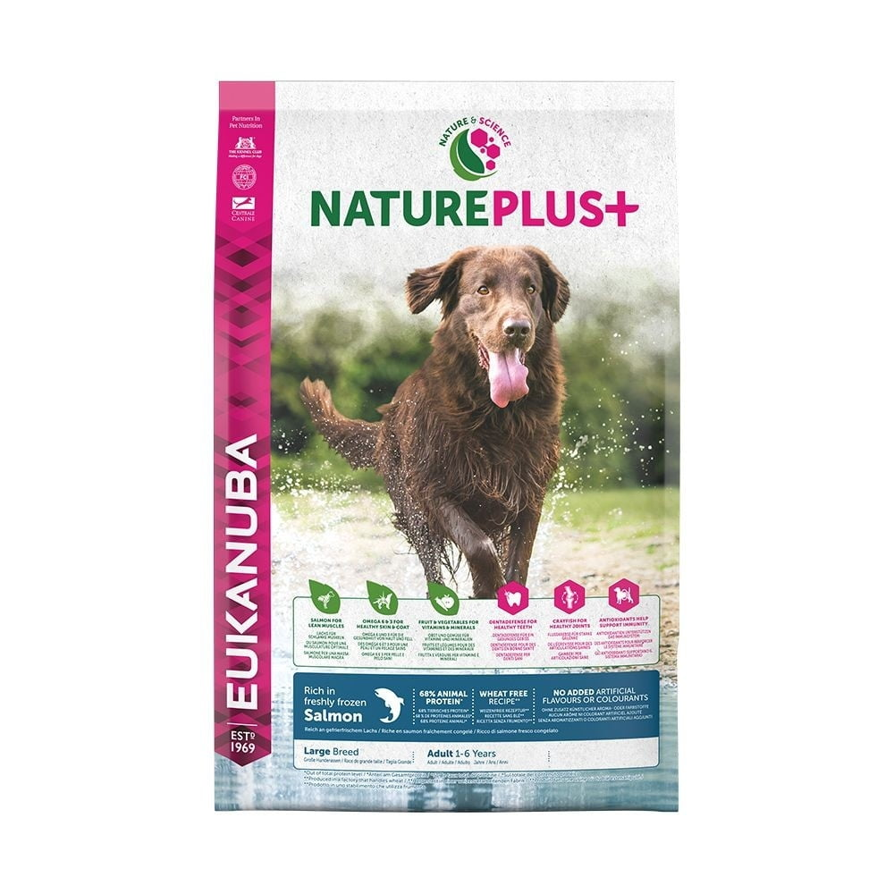 Eukanuba Nature Plus+ Adult Large Breed Salmon (10 kg)