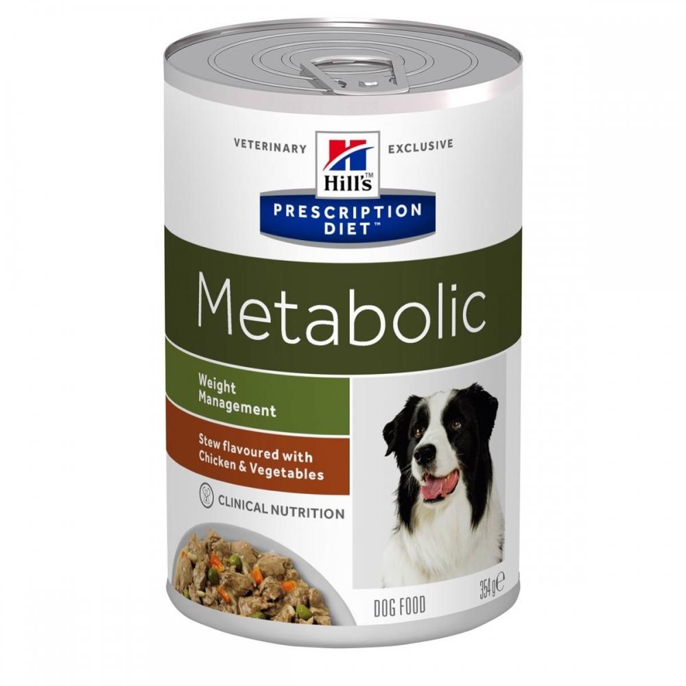 Hill's Prescription Diet Canine Metabolic Weight Management Stew Chicken & Vegetables (354 g)