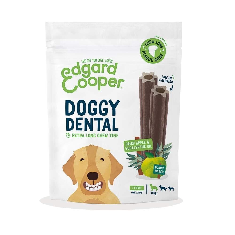 Edgard & Cooper Doggy Dental Tuggpinnar Äpple & Eukalyptus 7-pack (L)