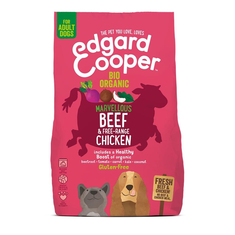 Edgard & Cooper Dog Ekologisk Nötkött & Kyckling (2,5 kg)