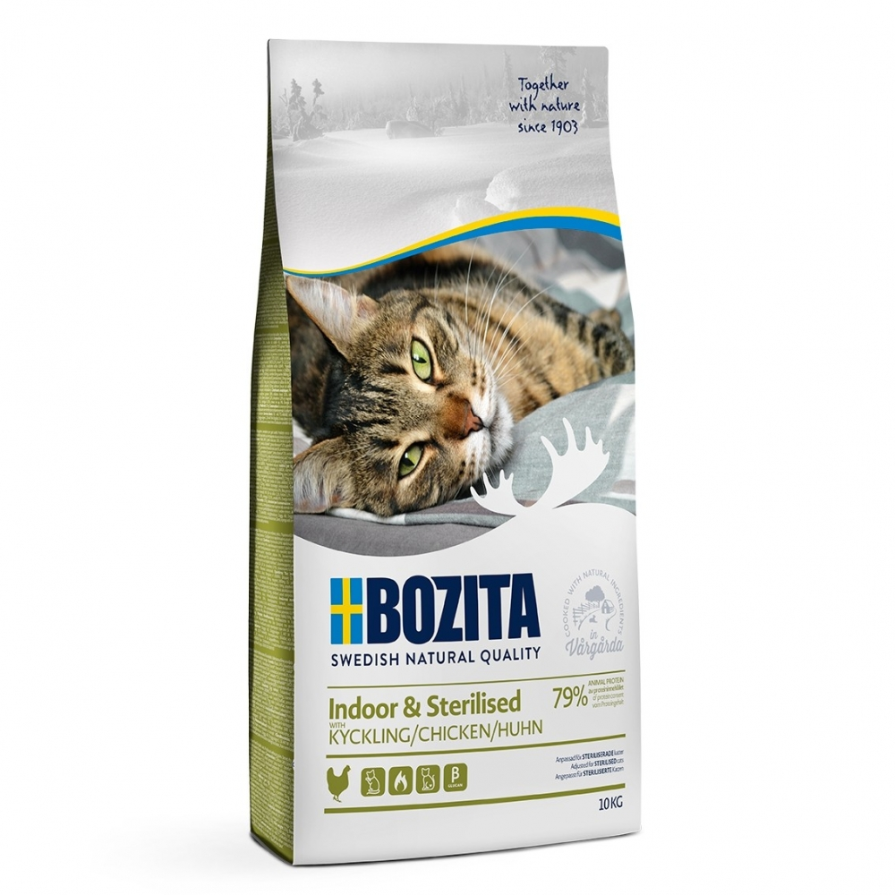 Bozita Indoor & Sterilised Chicken (10 kg)