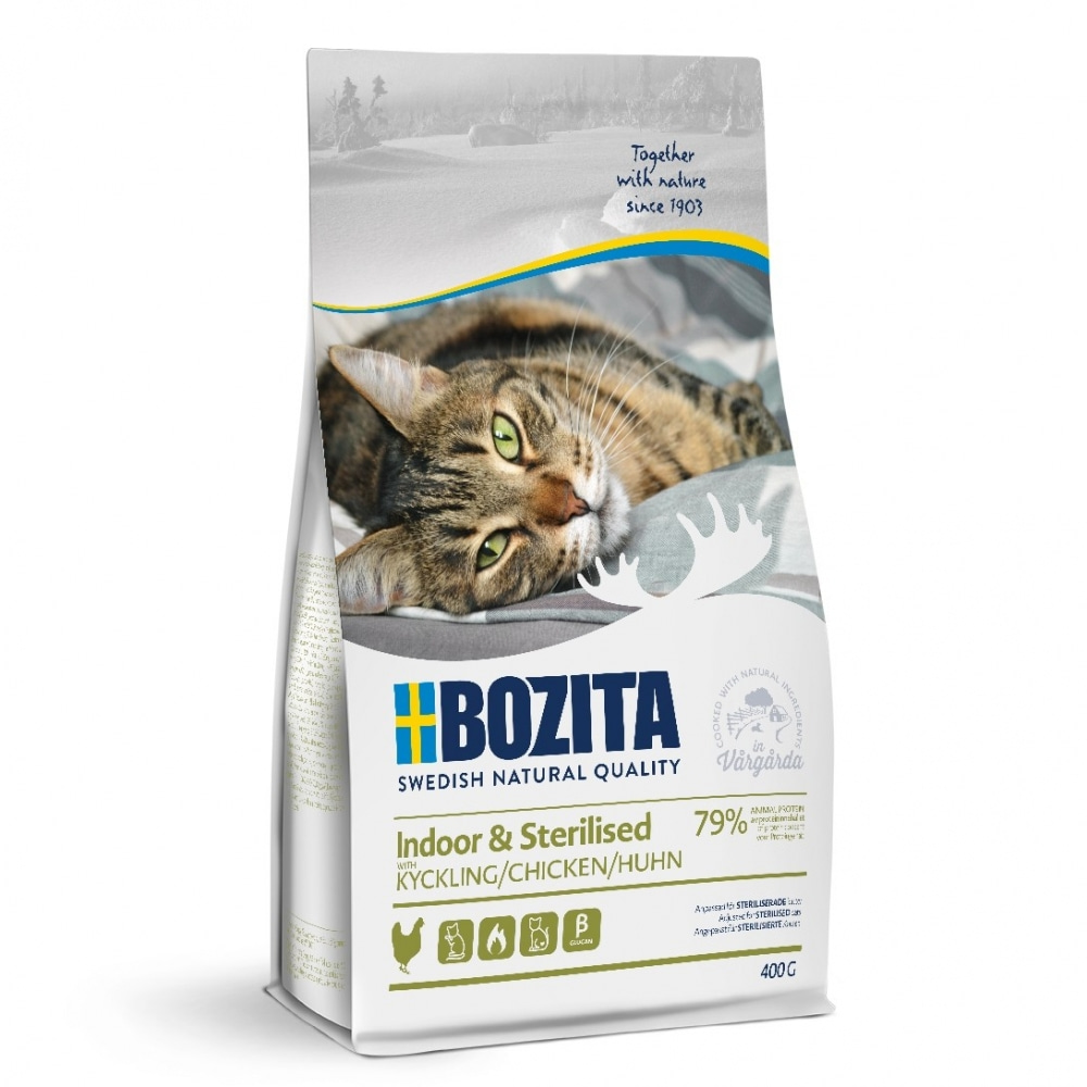 Bozita Indoor & Sterilised Chicken (400 g)