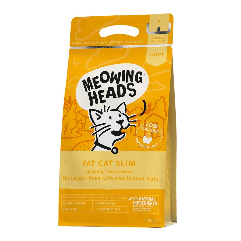 Meowing Heads Fat Cat Slim 1,5 kg