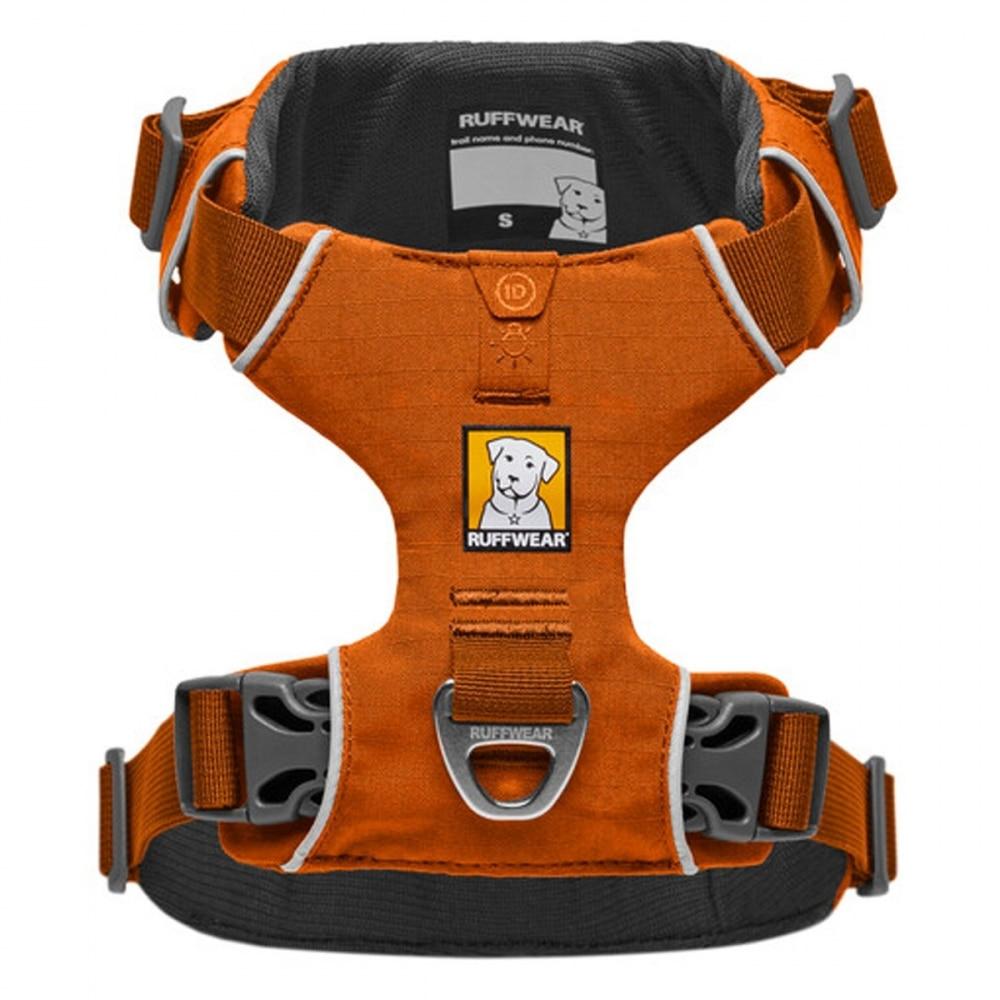 RuffWear Front Range Hundsele Orange (S)