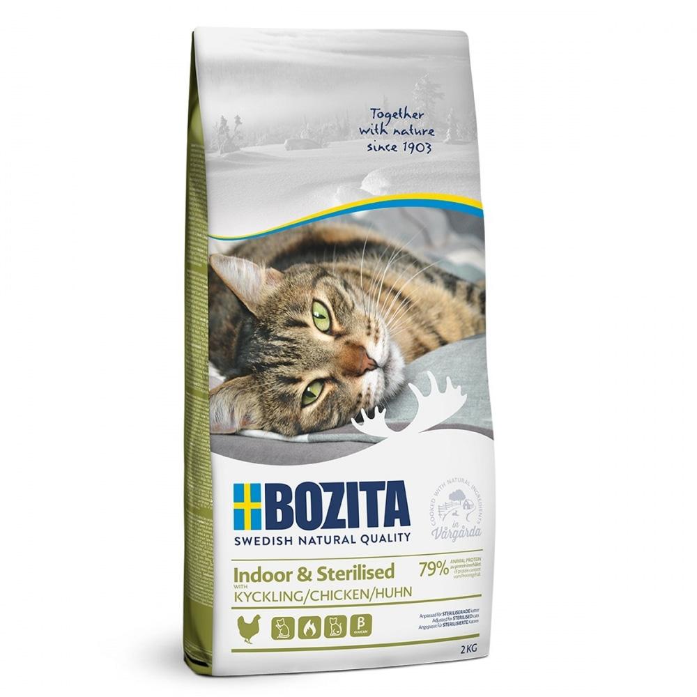 Bozita Indoor & Sterilised Chicken (2 kg)