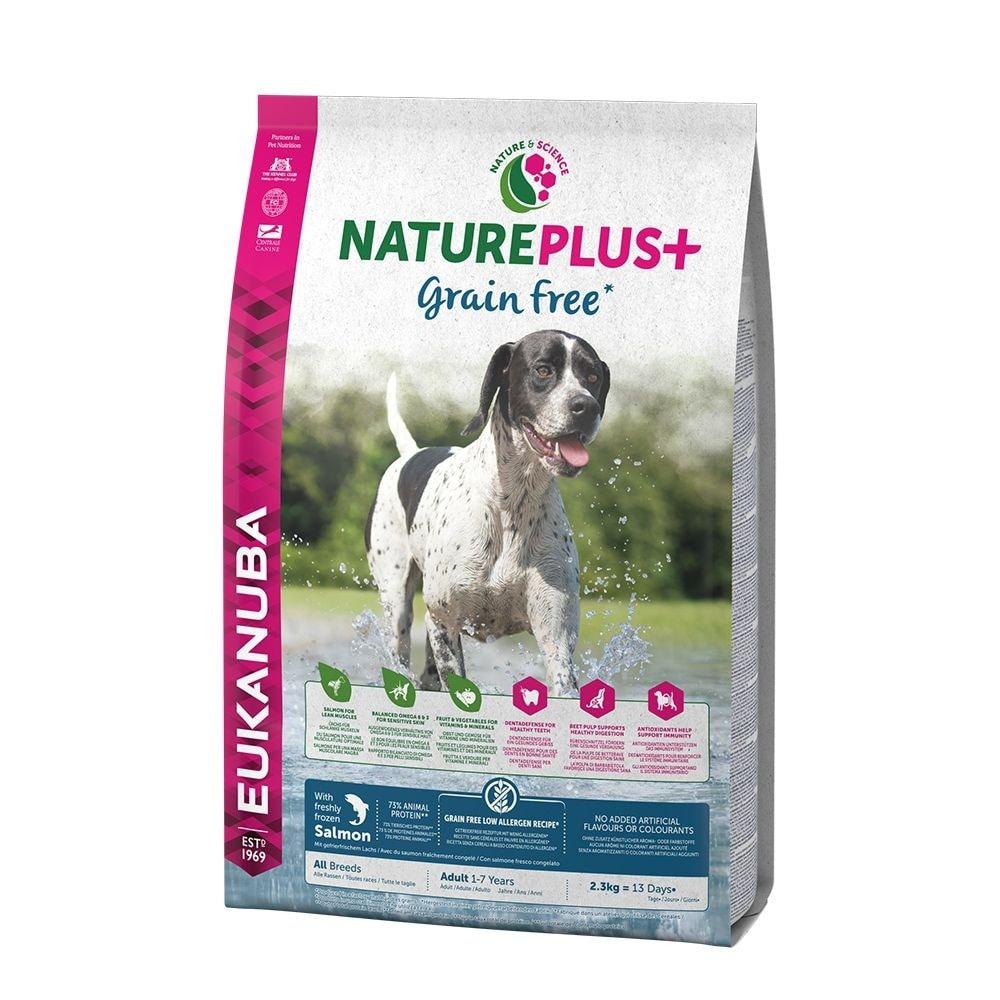 Eukanuba Nature Plus+ Grain Free Adult Salmon (10 kg)