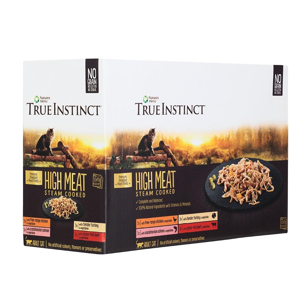 True Instinct HighMeat Cat Multipack (12x70g)