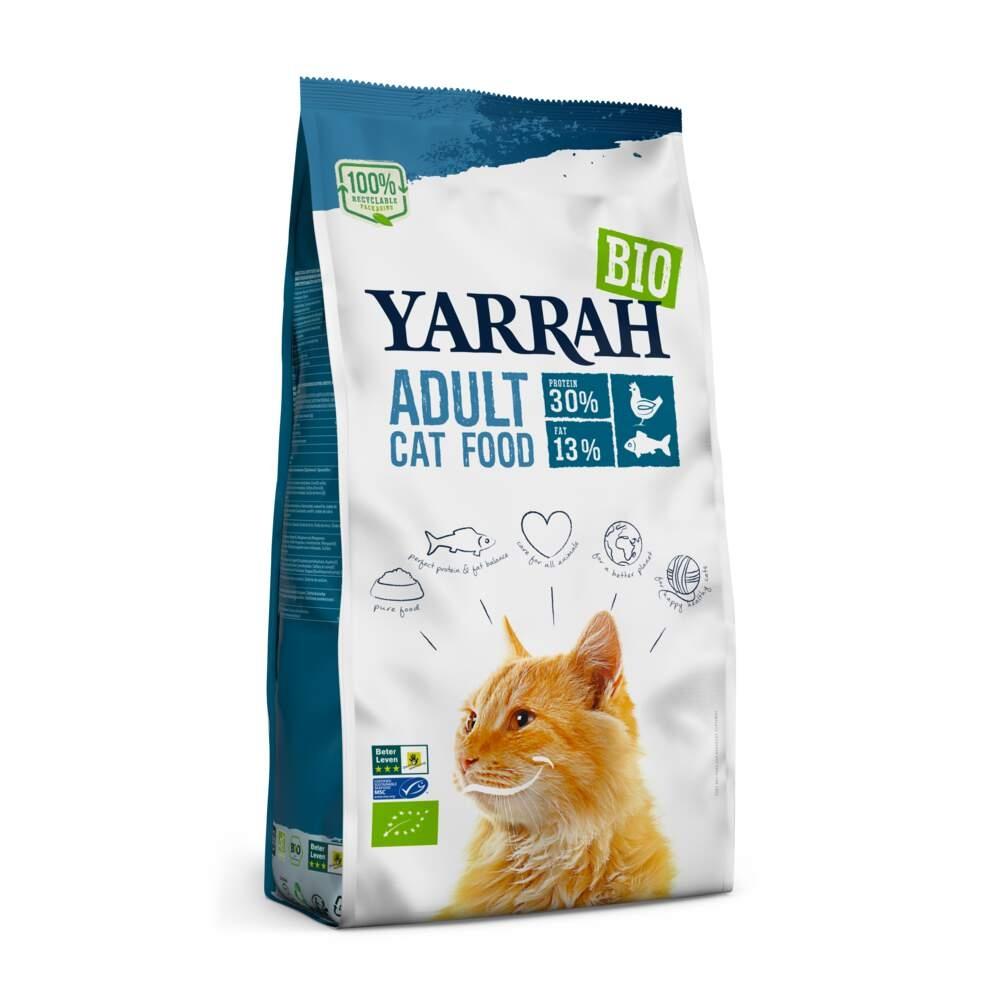 Yarrah Organic Cat Adult Fish (6 kg)