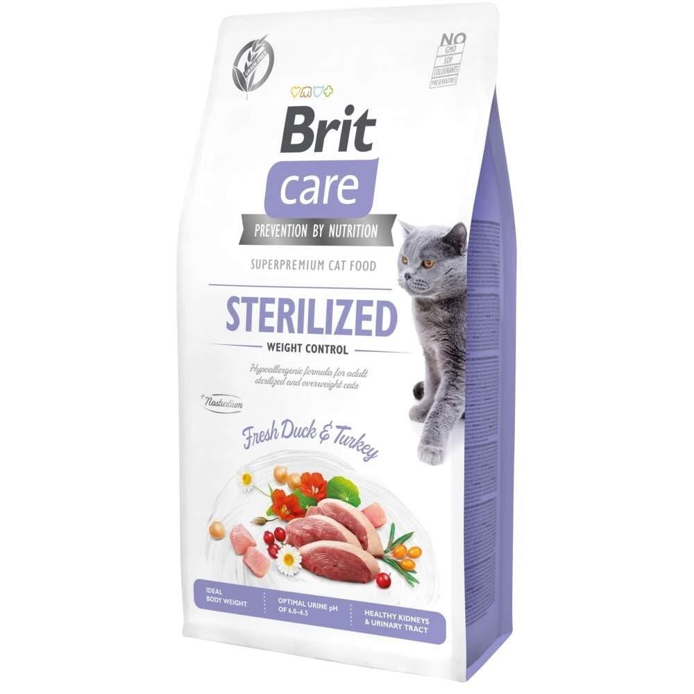 Brit Care Cat Grain Free Sterilized Weight Control (2 kg)