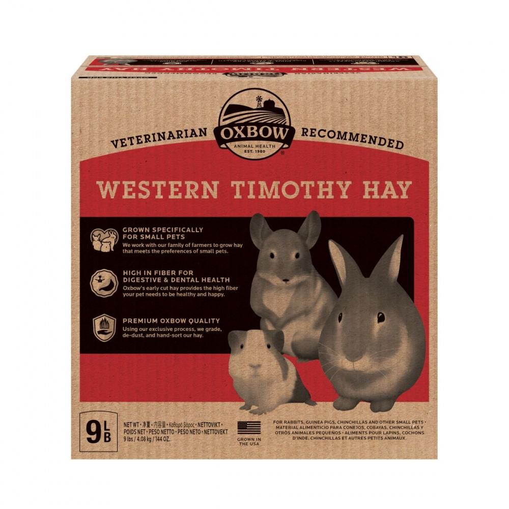 Oxbow Western Timotej Hö (4,08 kg)