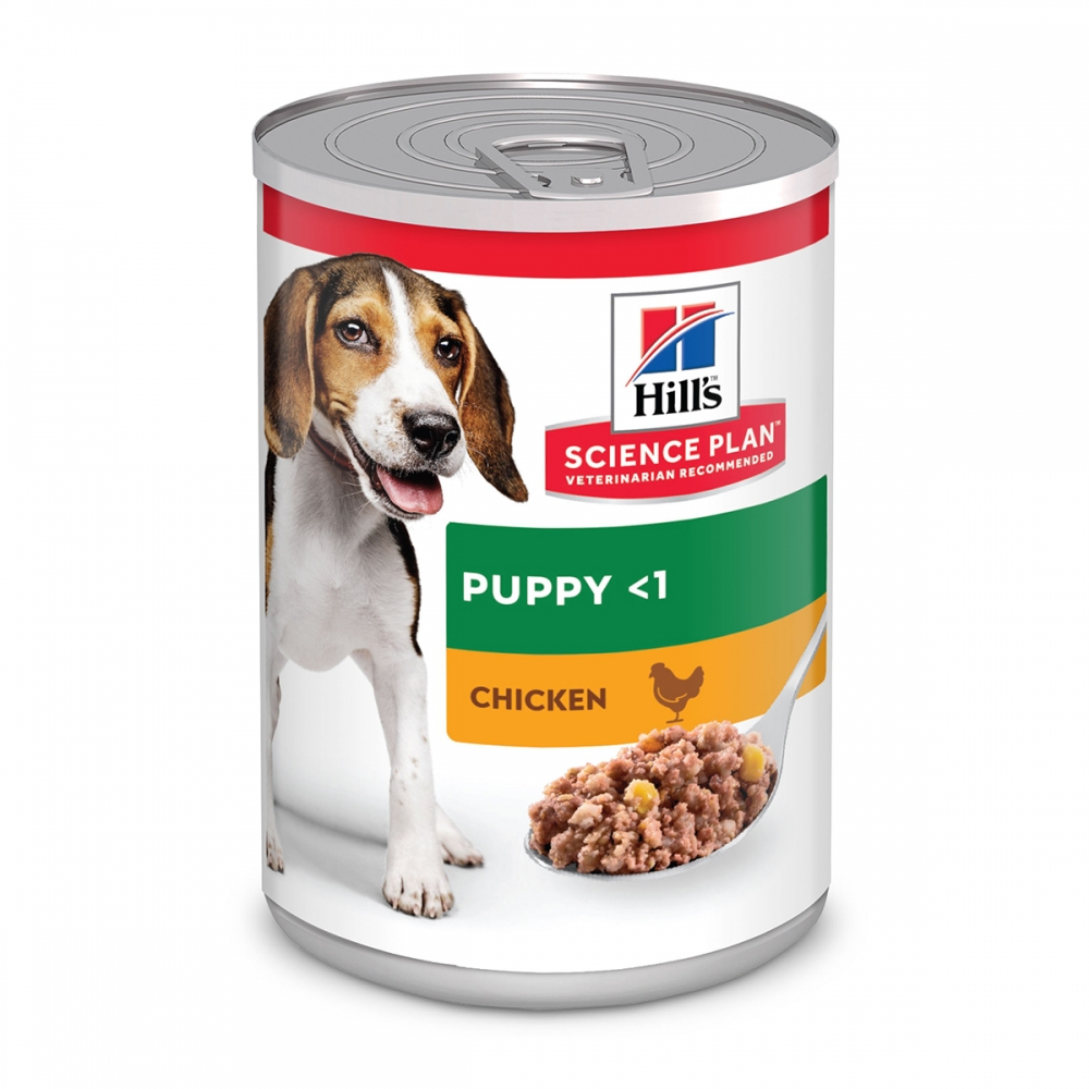 Science Plan Puppy Våtfoder med Kyckling (370 g)