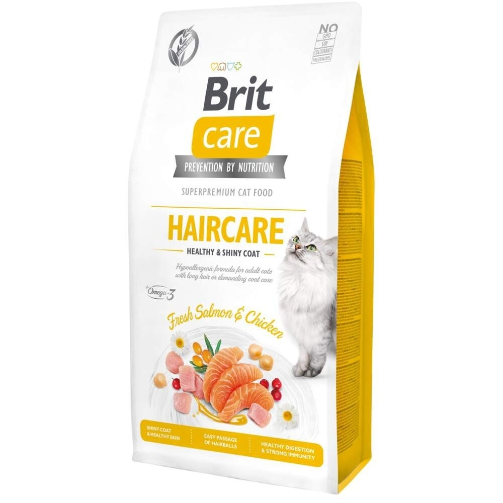 Brit Care Cat Grain Free Haircare Healthy & Shiny Coat (2 kg)