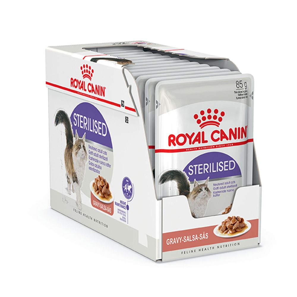 Royal Canin Sterilised Gravy Wet (12x85g)