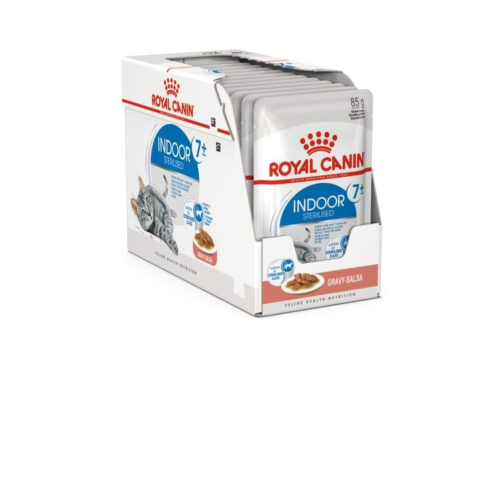Royal Canin Indoor Ageing 7+ in Gravy
