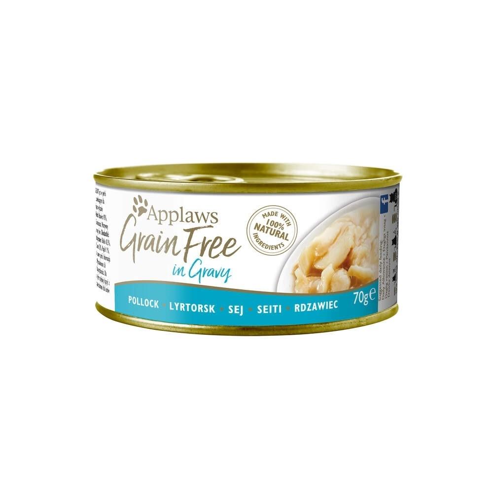 Applaws Cat Grain Free Pollock in Gravy 70 g