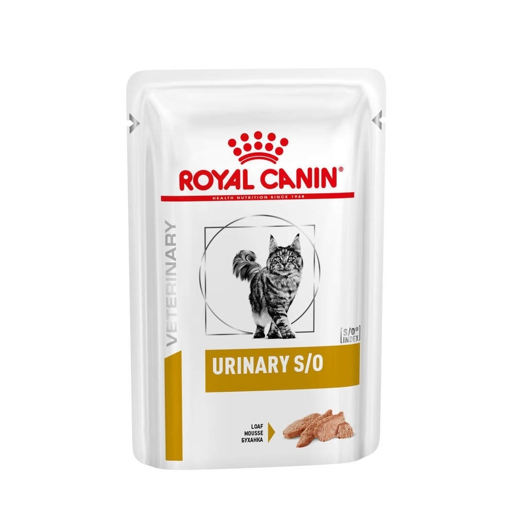 Royal Canin Veterinary Diets Cat Urinary S/O Loaf 12x85 g
