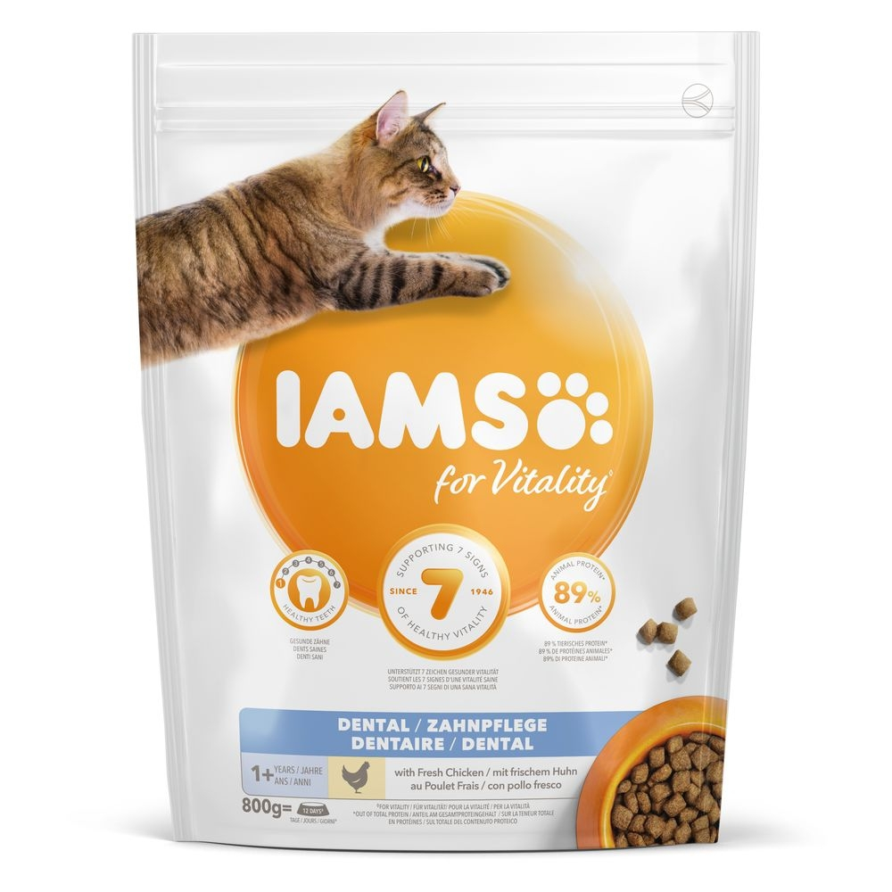 Iams for Vitality Cat Adult Dental (10 kg)