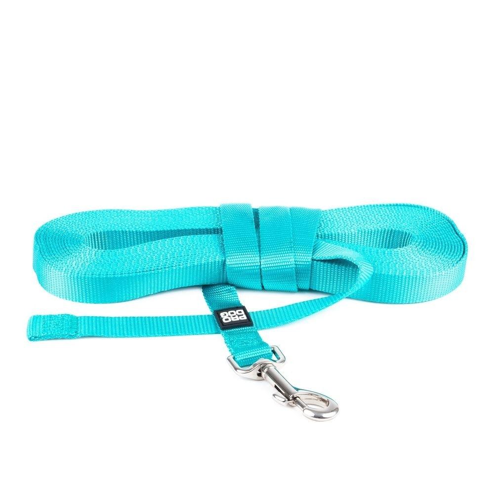 Pro Dog Träningslina Nylon Turkos (10 m)
