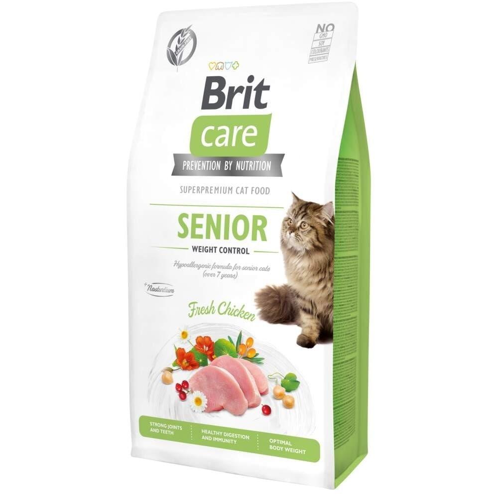 Brit Care Cat Grain Free Senior Weight Control (400 g)
