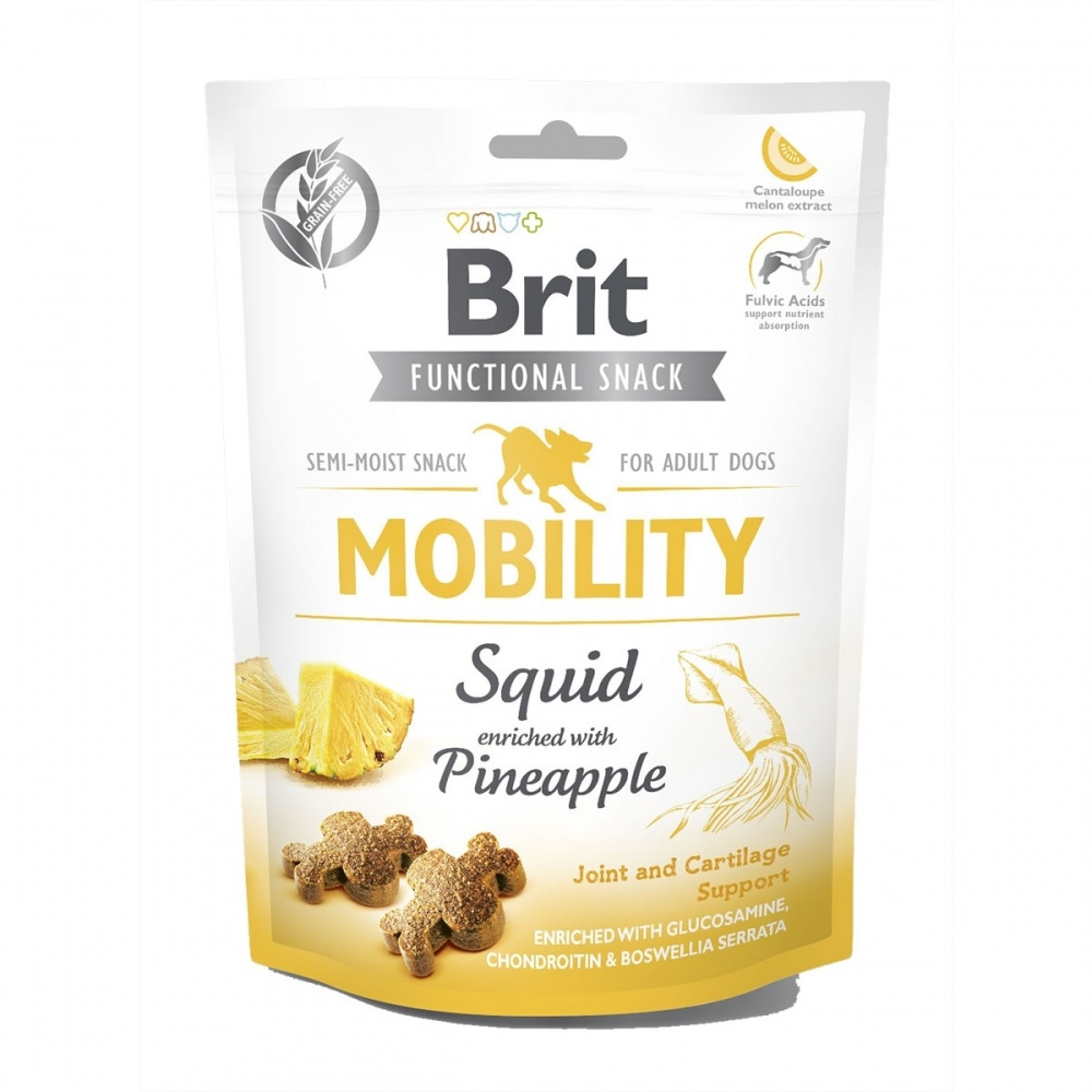Brit Care Functional Snack Mobility Squid 150 g