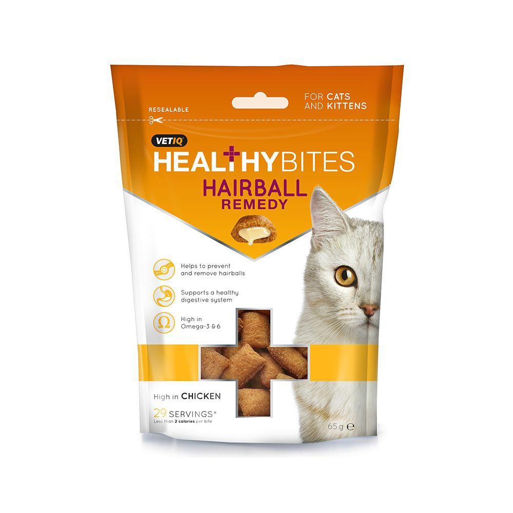 VetIQ Healthy Bites Hairball 65 g