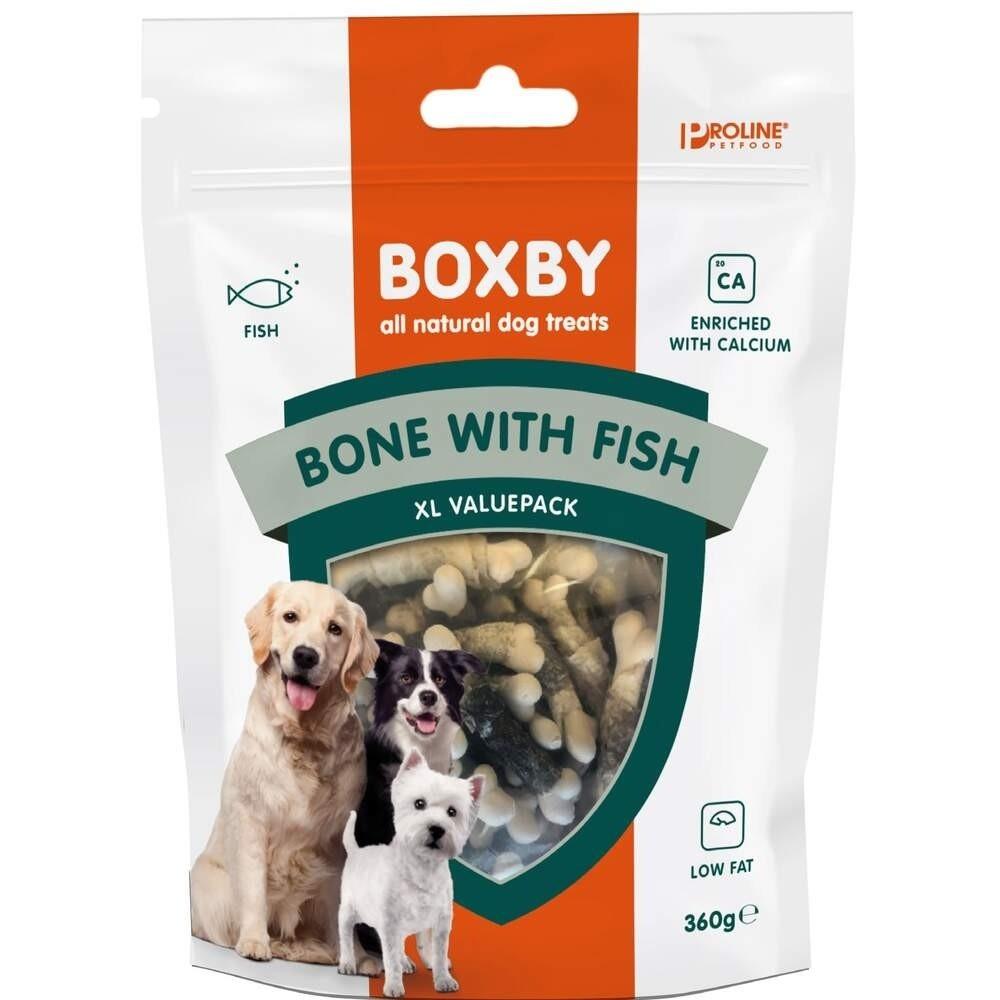 Boxby Calcium Bones Fisk 360 g
