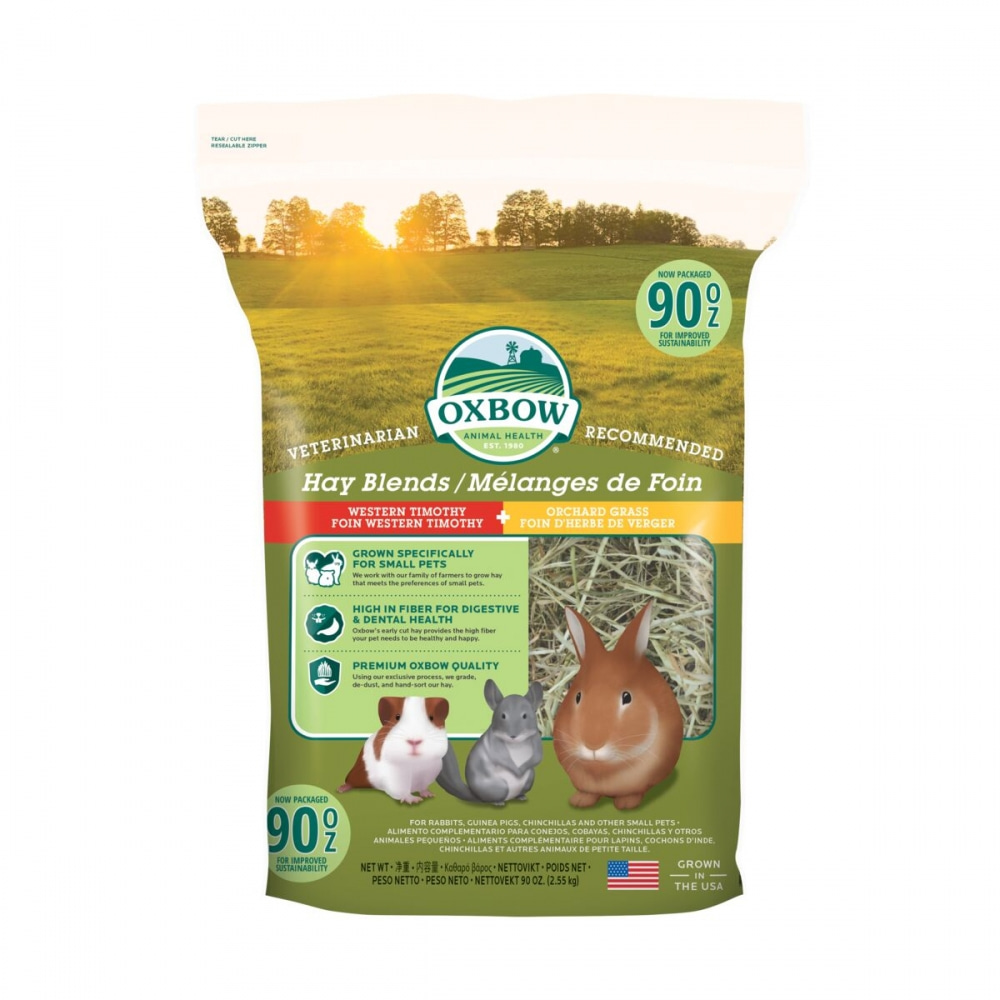 Oxbow Hay Blends Western Timothy & Orchard Hö (2,55 kg)