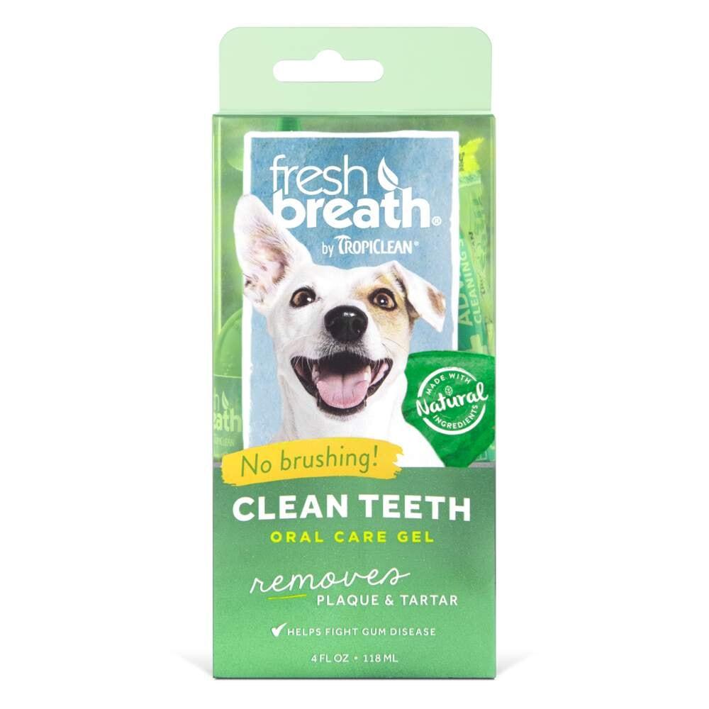 Tropiclean Fresh Breath Clean Teeth Oral Gel Dog (118 ml)