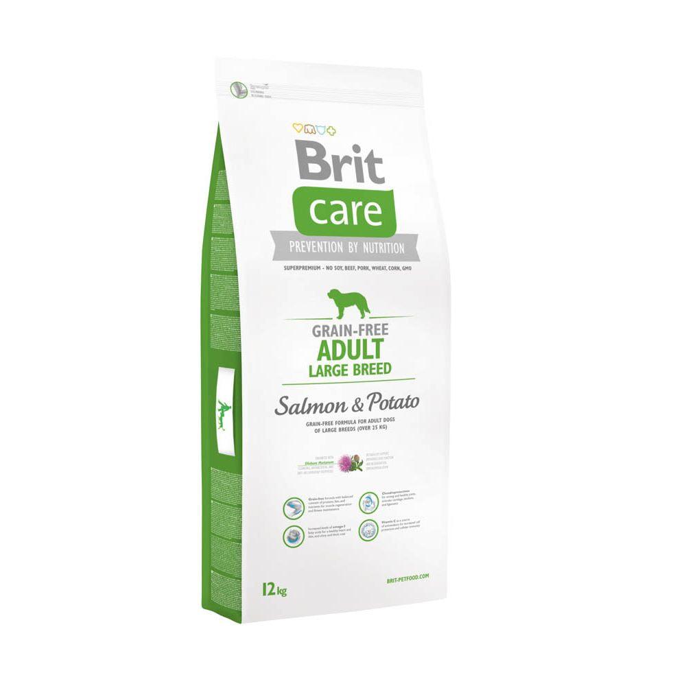 Brit Care Grain-free Adult Large Salmon & Potato (12 kg)