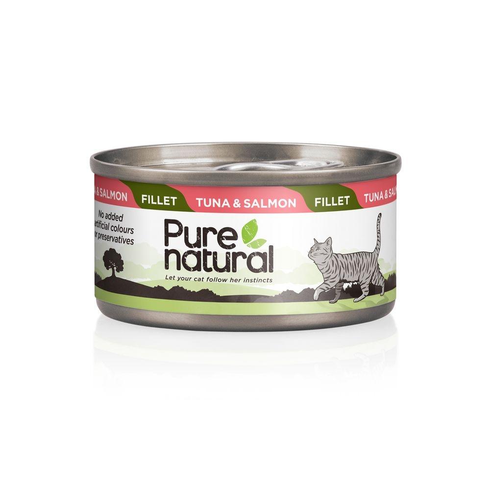 Purenatural Cat Fillet Tuna & Salmon 70 g