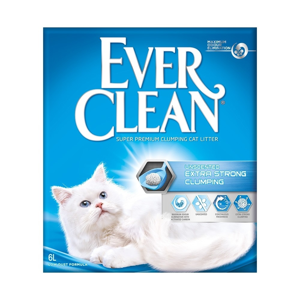 Ever Clean Xtra Strong Unscented 6 L