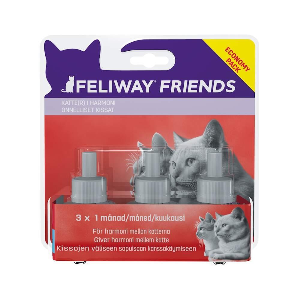 Feliway Friends Refillflaska 3-pack