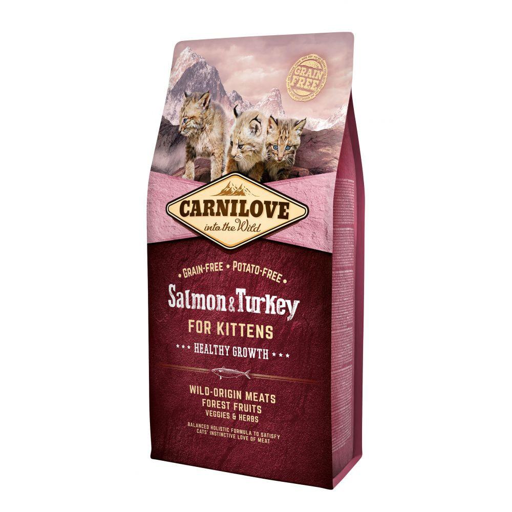 Carnilove Cat Salmon & Turkey (400 g)