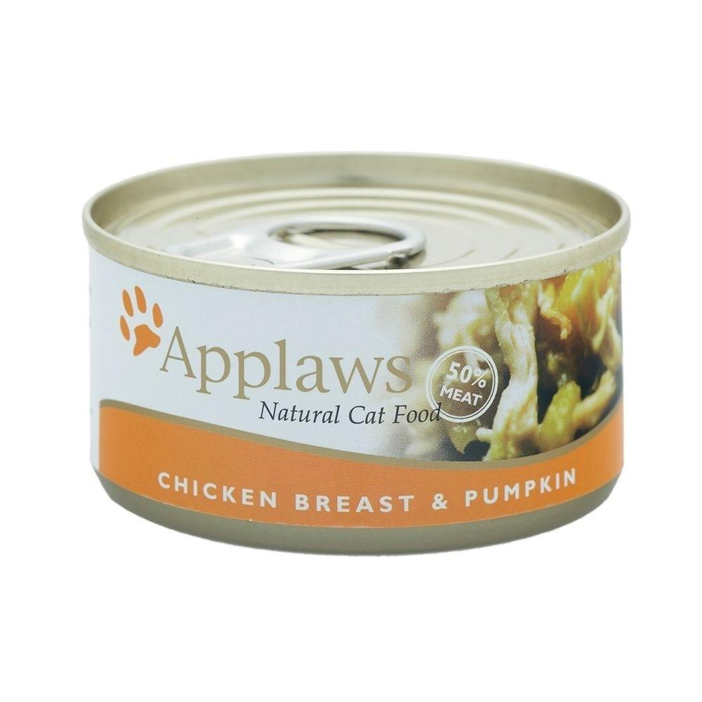 Applaws Chicken Breast&Pumpkin Konserv (70 g)