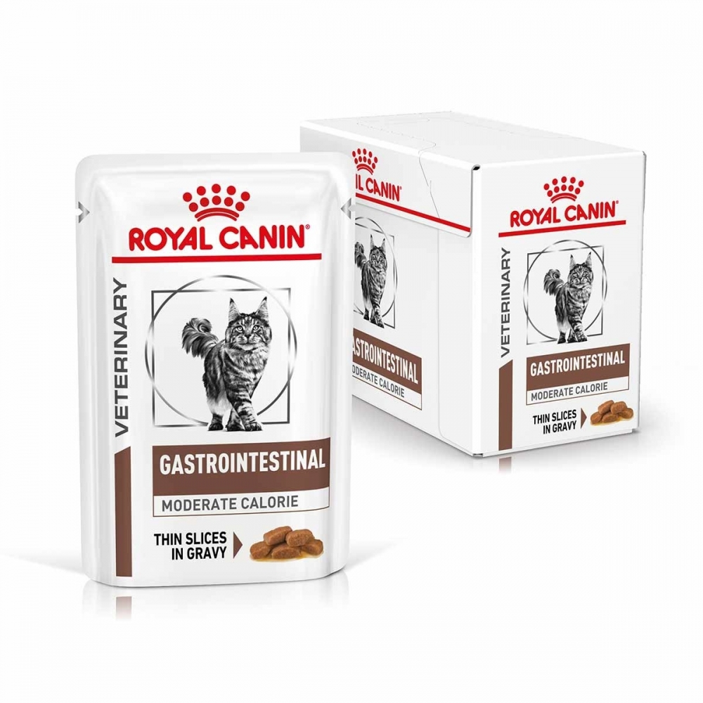 Royal Canin Veterinary Diets Cat Gastrointestinal Moderate Calorie 12x85 g