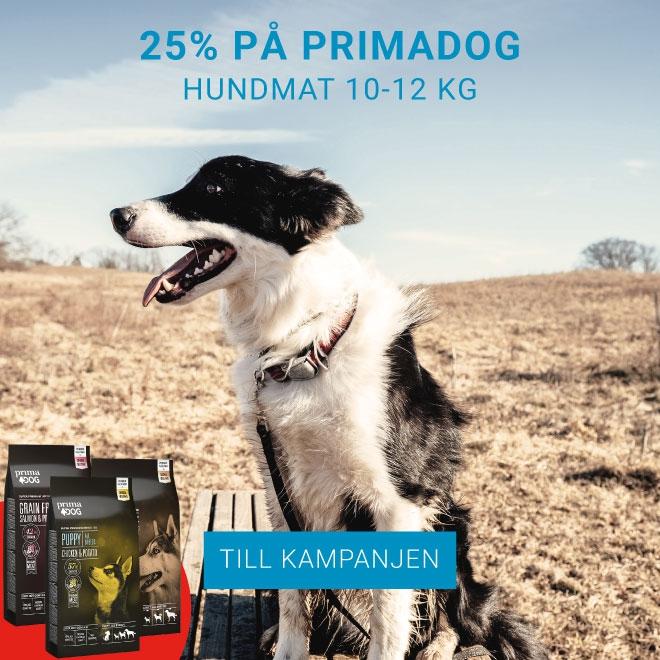 25% på PrimaDog Hundmat 10-12 kg