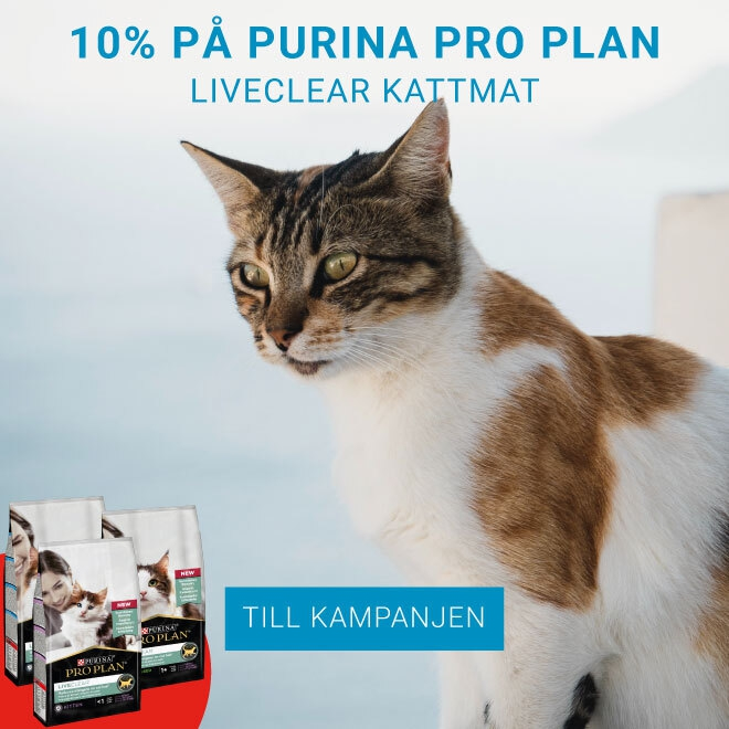 10% på Purina Pro Plan LiveClear Kattmat