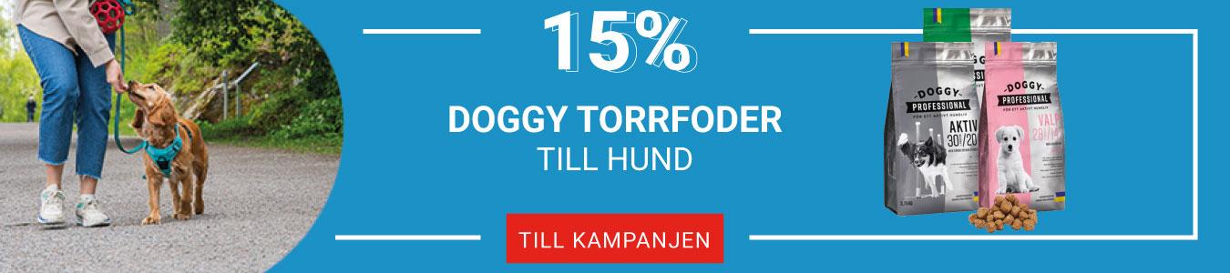 15% på Doggy Torrfoder till hund