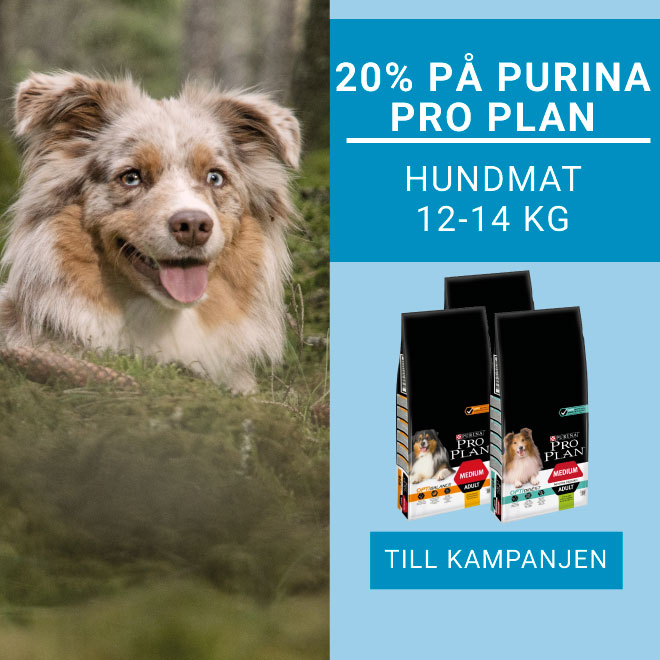 20% på Purina Pro Plan Hundmat 12-14 kg