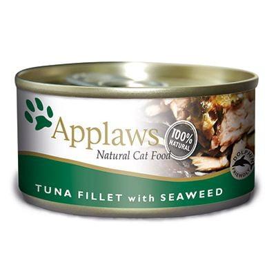 Applaws Tuna Fillet&Seaweed Konserv (70 grammaa)