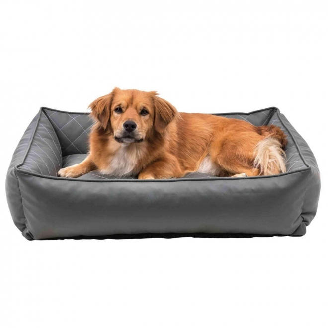 Trixie Santo Vital Hundbädd Konstläder Grå